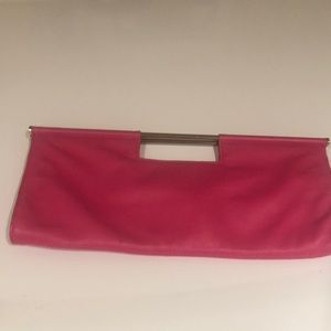 Banana Republic pink Clutch. Never used